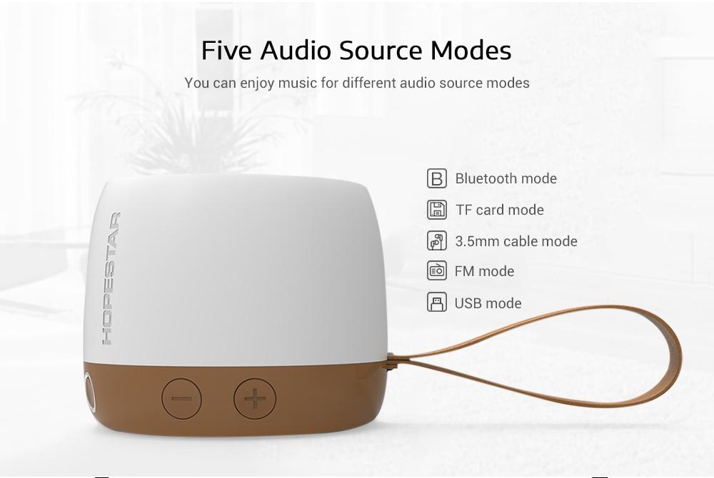 HOPESTAR H17 Outdoor Wireless Bluetooth Speaker Portable Mini Player