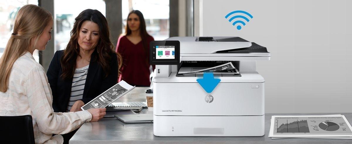 HP LaserJet Pro MFP M428fdw Laser All In One - Office Depot