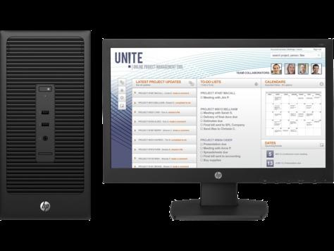 HP 280 G2 Microtower PC Bundle