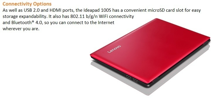 Lenovo 100 S on Jumia at the best price