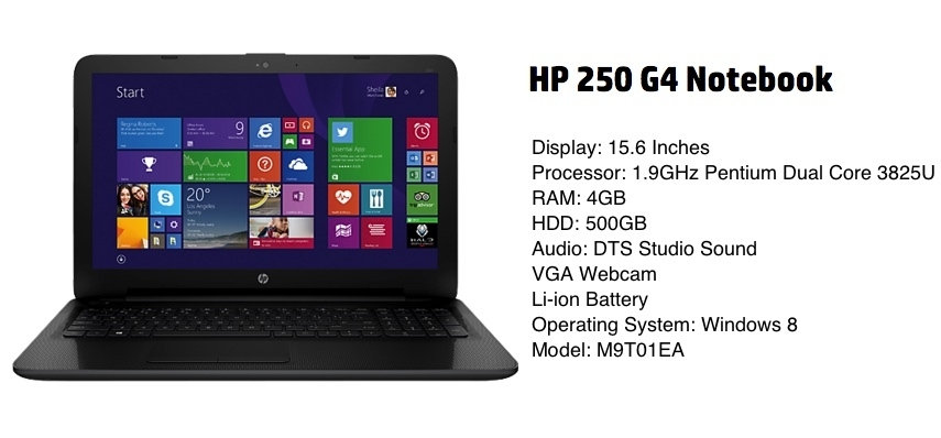Buy Hp 250 G4 Intel Pentium Dual Core 1 9ghz 4gb 500gb