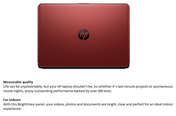 HP 14-am053nia  X4M05EA laptop on Jumia