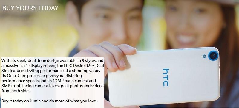 HTC Desire 820s 3 Jumia Nigeria