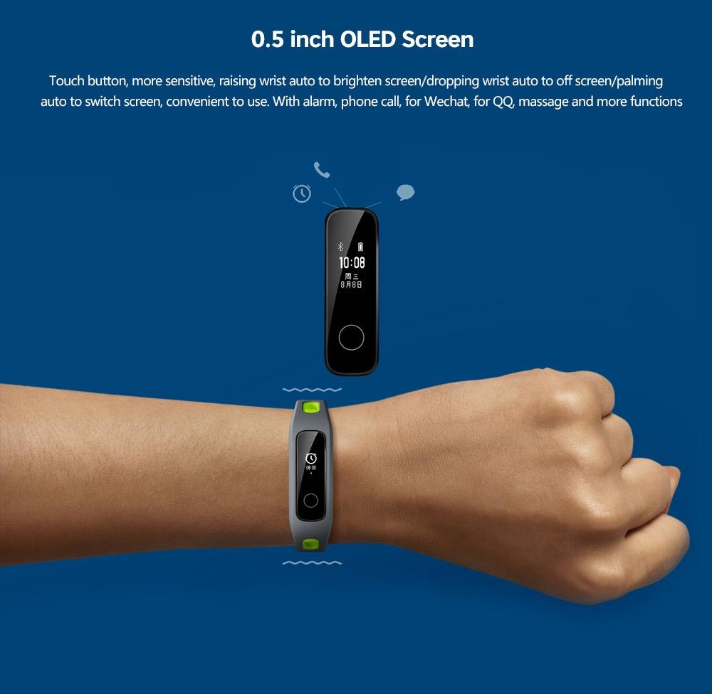 HUAWEI Honor 4 Smart Bracelet for Running Fitness Tracker Sports Wristband