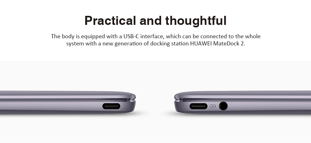 HUAWEI MateBook X WT - W19 13 inch Windows 10 OS Laptop