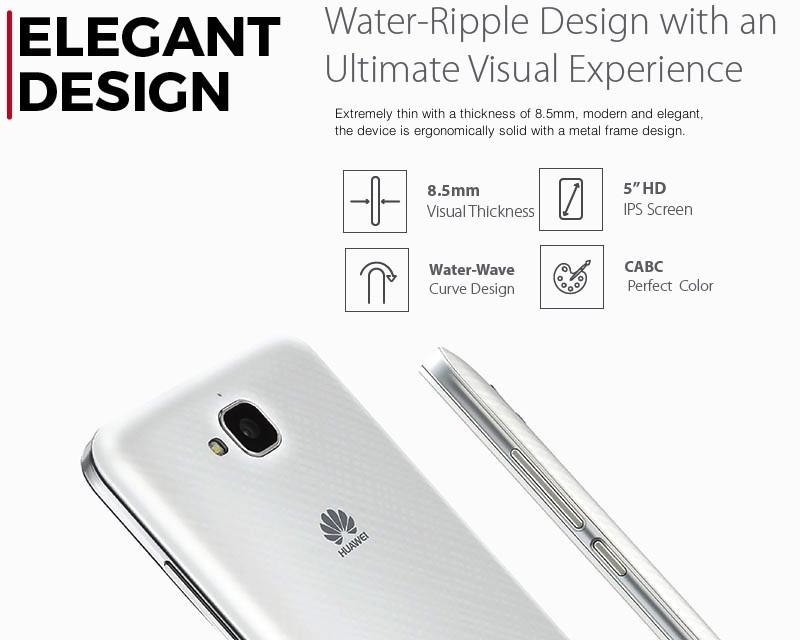 Huawei G Power Seamless Design