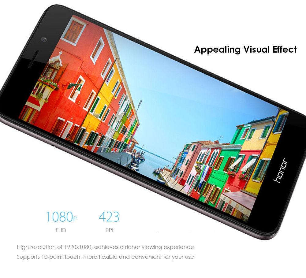 Huawei Honor 5C ( NEM-AL10 ) 5.2 inch 1080P FHD IPS Screen 4G Smartphone Android 6.0 Kirin 650 Octa Core 2.0GHz 3GB RAM 32GB ROM 13.0MP Rear Camera Fingerprint Sensor