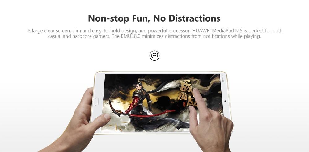HUAWEI MediaPad M5 CMR - W09B 10.8 inch Android 8.0 Tablet