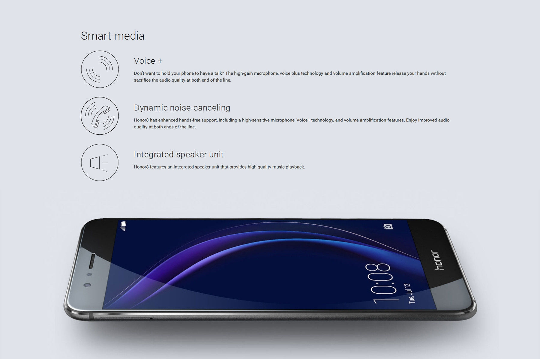 Huawei Honor 8 FRD-AL00 Android 6.0 5.2 inch 4G Smartphone Kirin 950 Octa Core 2.3GHz 4GB RAM 32GB ROM Fingerprint Scanner NFC Double 2.5D Arc Glass