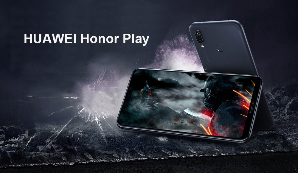 HUAWEI Honor Play 4G Phablet 6.3 inch Android 8.1 Kirin 970 Octa Core