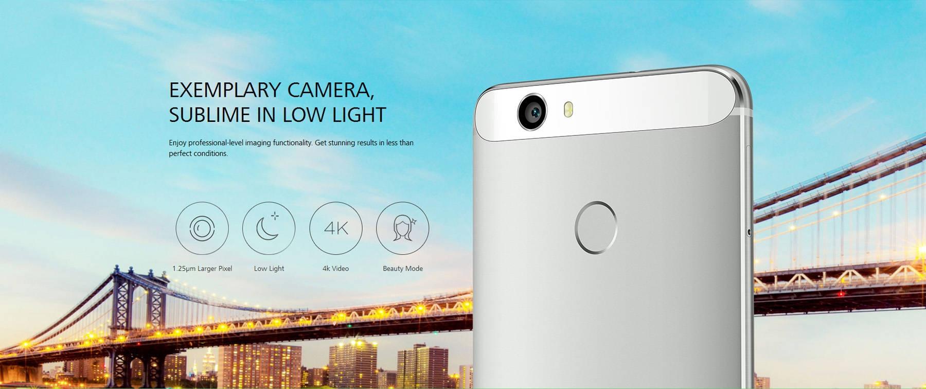 HUAWEI nova ( CAZ-AL10 ) 5.0 inch Android 6.0 4G Smartphone FHD In-Cell Screen Snapdragon 625 Octa Core 2.0GHz 4GB RAM 64GB ROM Type-C Fingerprint Sensor