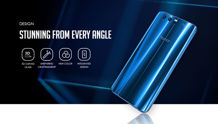 Huawei honor 9 design