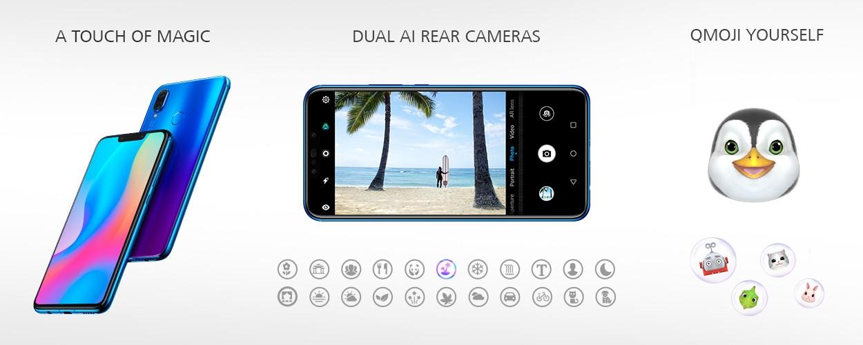 Huawei Nova 3i 6 3-Inch FHD+ Octa-Core (4GB RAM, 128GB ROM) Android