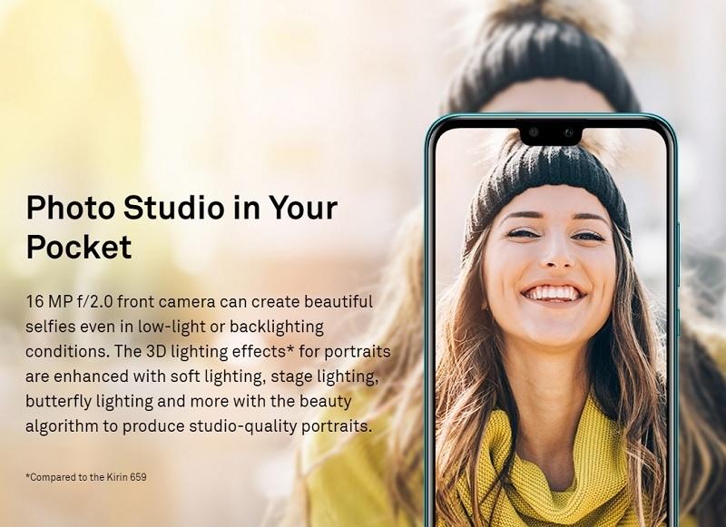 Huawei Y9 (2019) 6 5-Inch(4GB, 64GB ROM) Android 8 1 Oreo