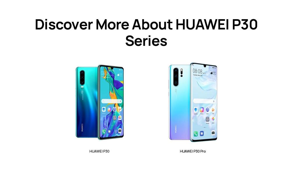 HUAWEI P30 4G Phablet 6.1 inch EMUI9.1.0 ( Android 9 ) Kirin 980 Octa Core 2.6GHz 8GB RAM 128GB ROM 32.0MP Front Camera Screen Fingerprint Sensor 3650mAh Built-in