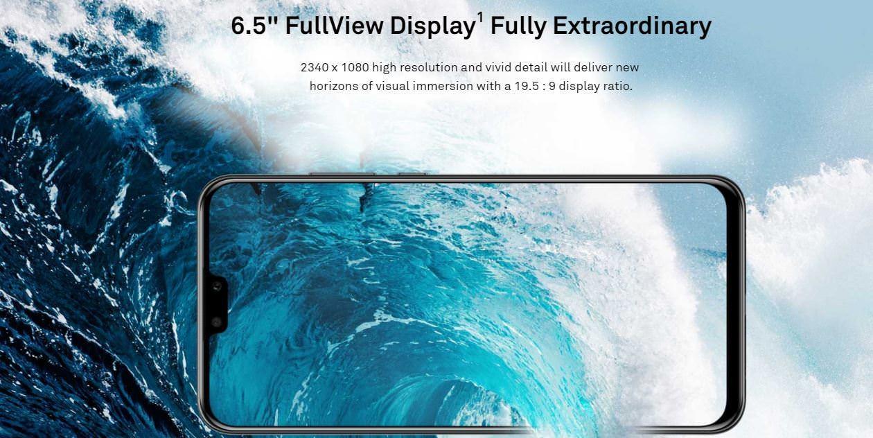 Y9 - 2019 - 4GB RAM - 64GB ROM - Android 8 1 Oreo, - 16MP, 2MP + 13MP + 2MP  - 4000mAh - Sapphire