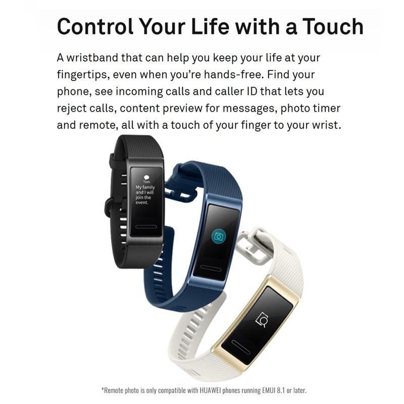 Huawei Band 3 Pro Smart Bracelet Smart Watch - Black | Jumia