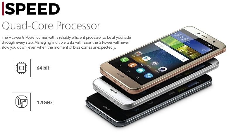 Huawei G Power Amazing Processor
