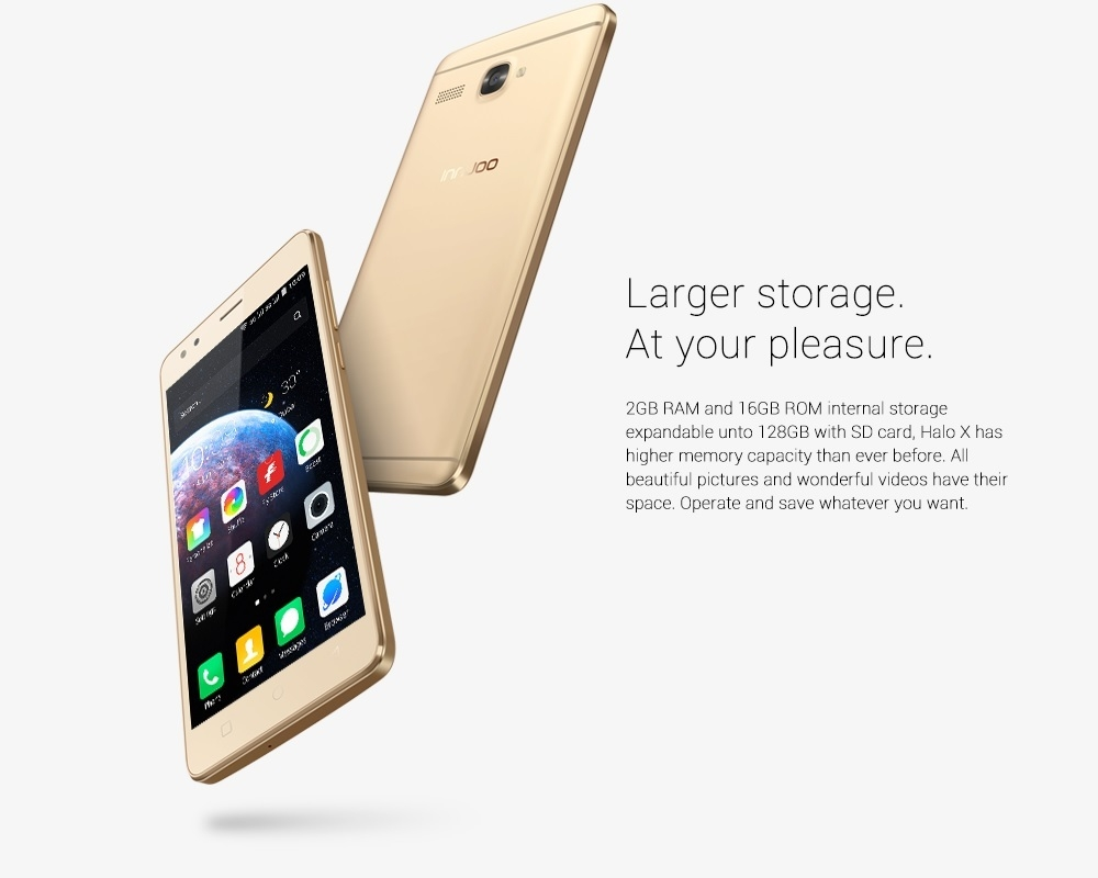 Innjoo Halo X - Gold 2GB RAM on Jumia at the best price in Nigeria