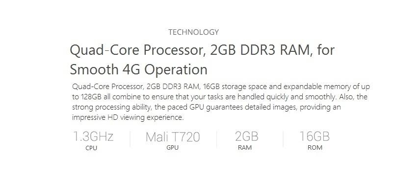 InnJoo Fire2 Plus LTE Quad-Core Processor