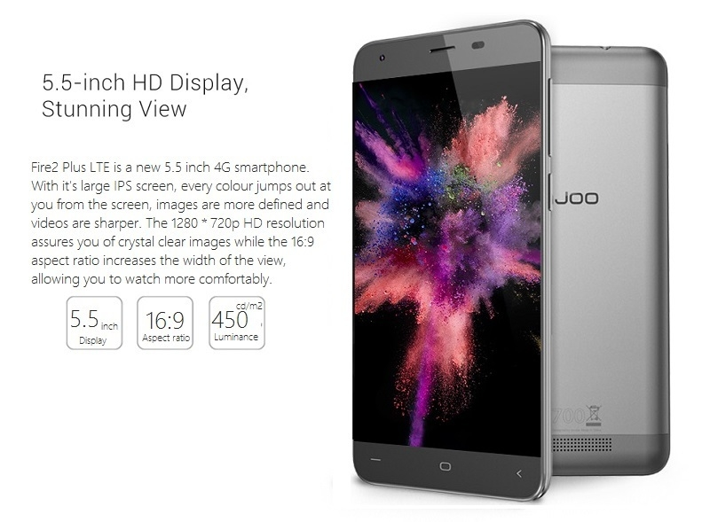 InnJoo Fire 2 Plus LTE HD Display