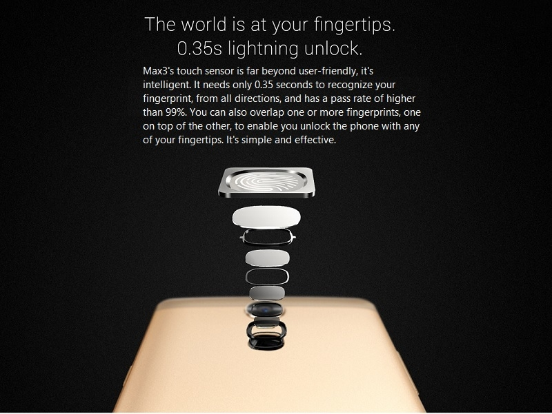 InnJoo Max3 Nigeria Fingerprint Technology