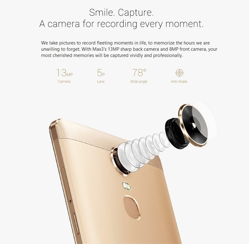 InnJoo Max3 Camera Specifications Nigeria