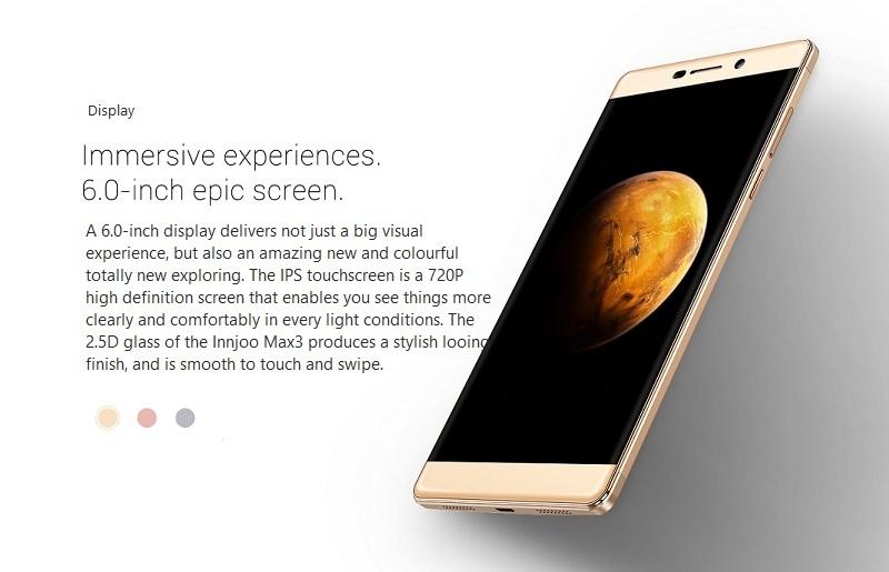 Innjoo Max3 Max 3 6 inch HD Screen