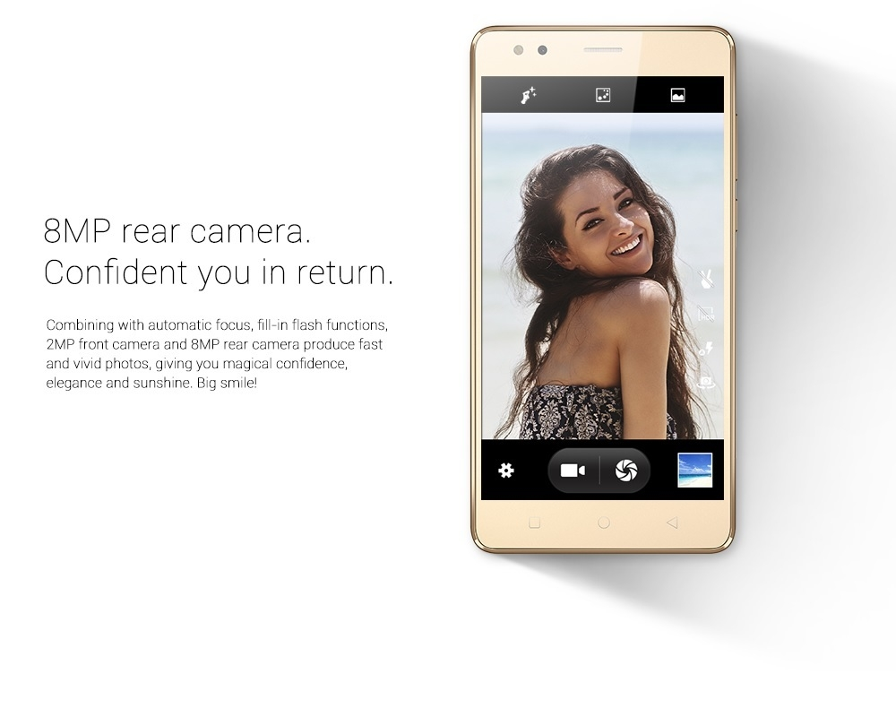 Innjoo Halo X - Gold 8MP camera on Jumia at the best price in Nigeria