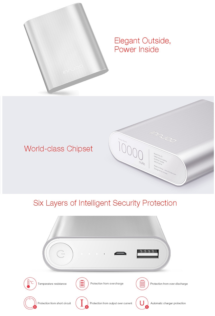 InnJoo e1 features