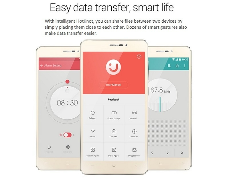 Innjoo Fire Plus Easy Data Transfer