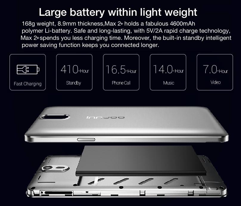 Innjoo Max 2 Plus Battery