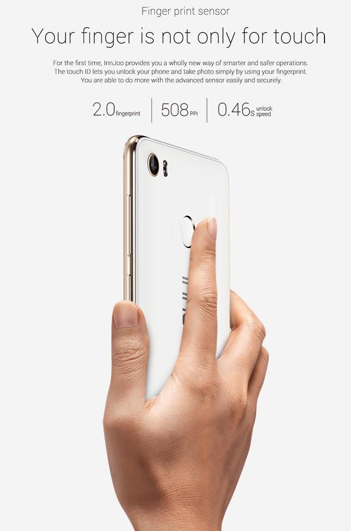 InnJoo 2 Fingerprint sensors