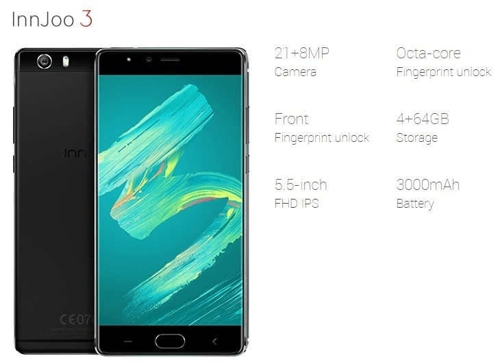 Innjoo 3 on Jumia specs