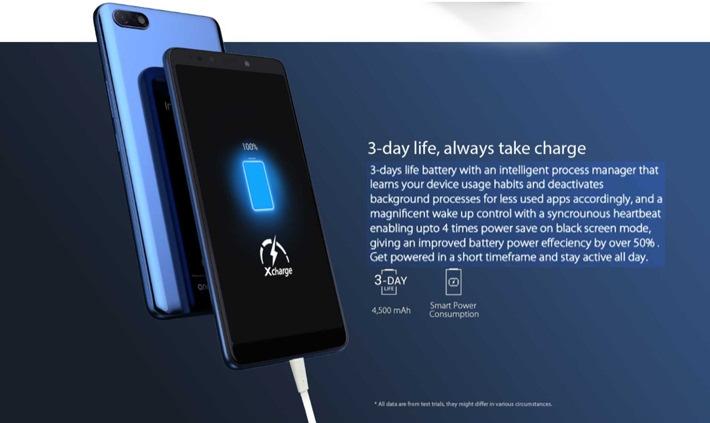 Note 5 (X604) 6 0-Inch FHD (3GB RAM + 32GB ROM)Dual-Sim 4G Smartphone  -Berlin Grey