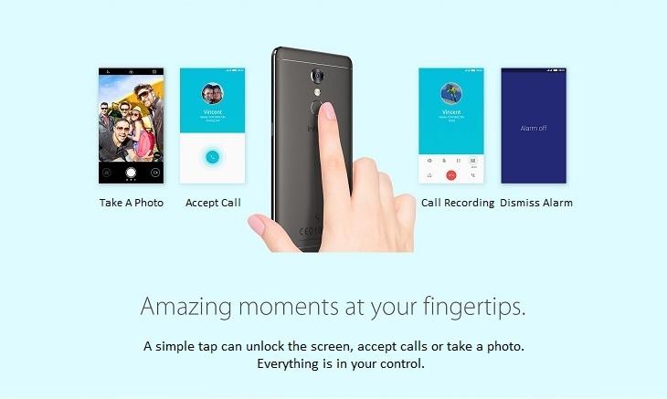 Infinix S2 X522 fingerprint unlock
