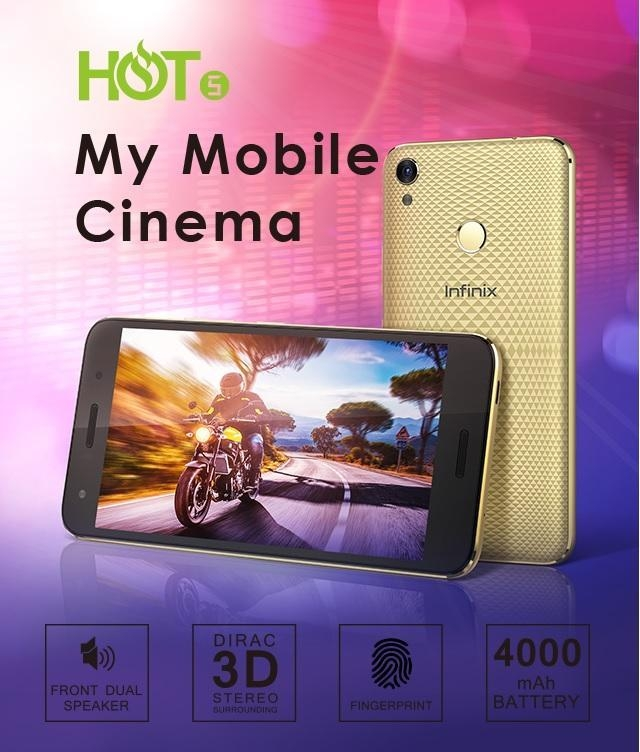 Infinix Hot 5 Smartphone on Jumia at best price