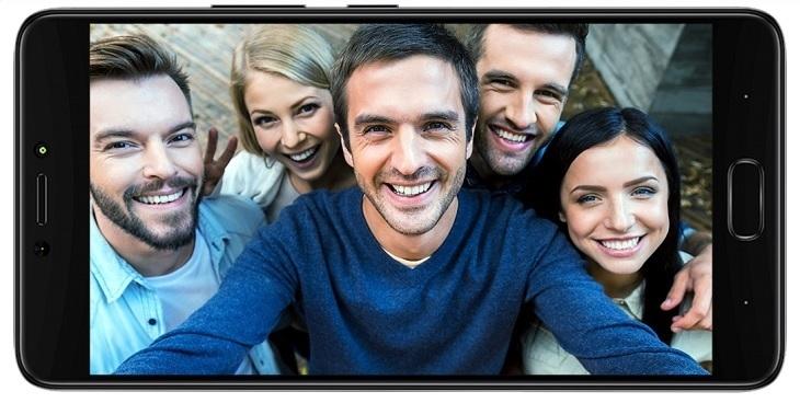 Infinix Note 4group selfie camera