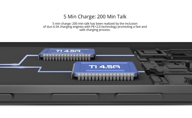 Infinix Note3 5 minute charge