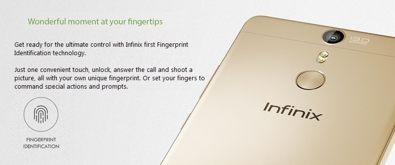 Infinix Fingerprint Identification