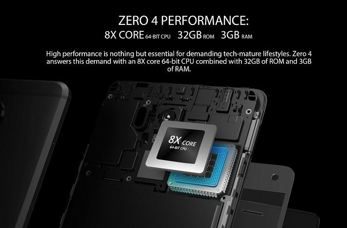 Zero 4 Processor specs