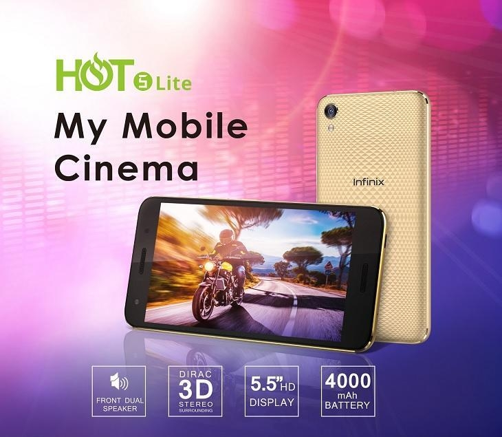 Infinix Hot 5 Lite smartphone on Jumia best price nigeria