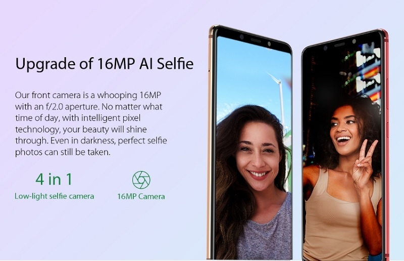 cheap 16mp selfie camera smartphone in nigeria