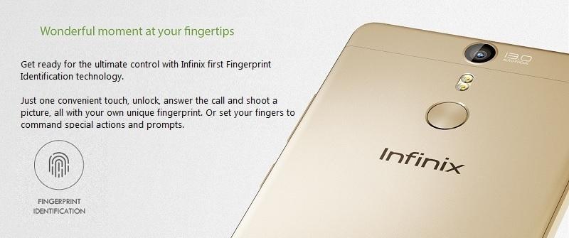 Infinix Fingerprint Identification