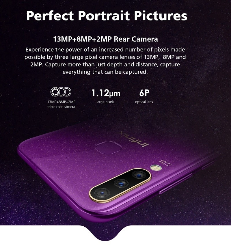 32MP powerful camera on a smartphone