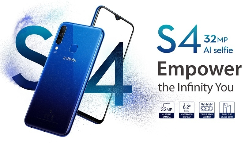 Infinix S4 - 6.2 Inch Full Description and Price (Best Deal)