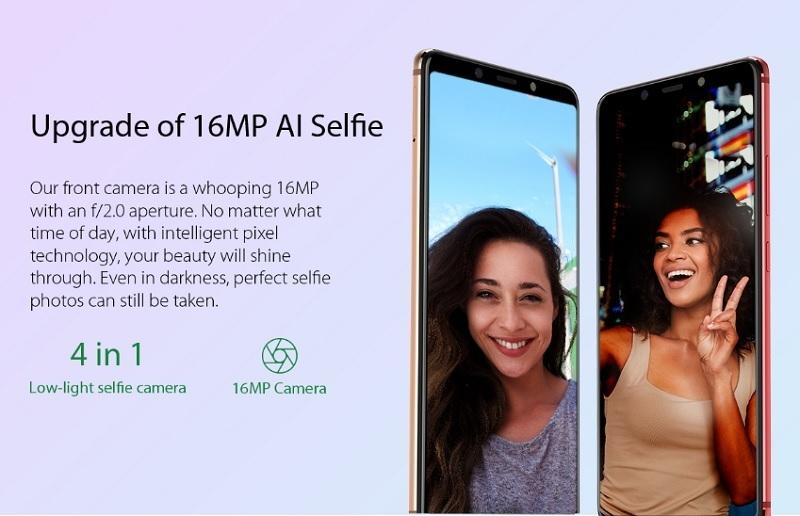 cheap 16mp selfie camera smartphone in nigeria