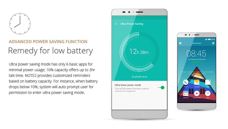 Infinix Note 2 X600 Low Battery Remedy
