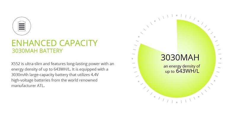 Infinix Zero 3 Battery life