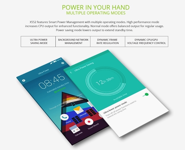 Infinix Zero 3 Power Saving Mode